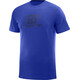 Salomon Blend Logo SS Tee Men surf the web